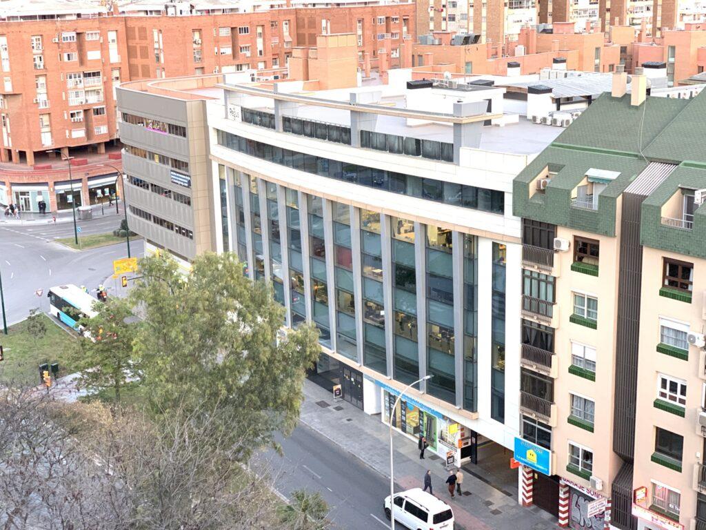 Edificio Indocar en Málaga construido por AGP